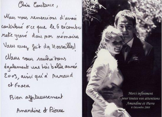 Robes de mariée Amandine et Pierre