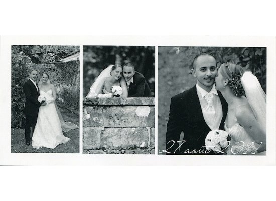 Robes de mariée Jennifer et Emmanuel