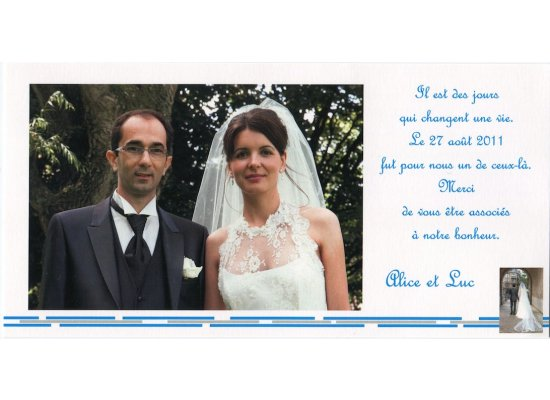 Robes de mariée Alice et Luc