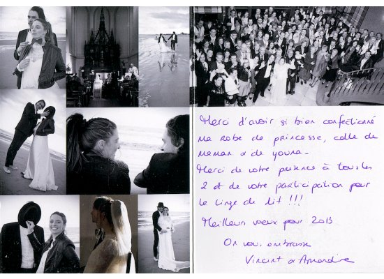 Robes de mariée Vincent et Amandine
