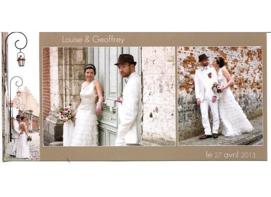 Robes de mariée Louise et Geoffrey