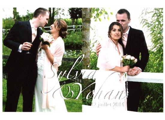 Robes de mariée Sylvia et Yohan
