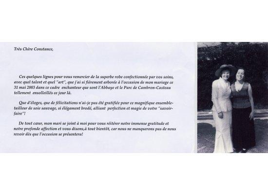 Robes de mariée Comtesse Nicolas de Brouchoven de Bergeyck