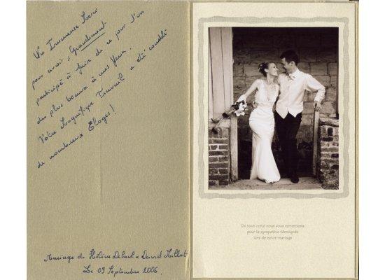 Robes de mariée Hélène et David