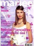 Robes de mariée MARIÉE MAGAZINE, juin-juillet-aout 2002