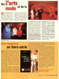 Robes de mariée LILLE MAGAZINE, janv. 2004