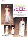 Robes de mariée PETIT JOURNAL, Carrousel du Louvre, Paris, mai 2002